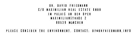 Dr. David Friedmann